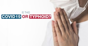 COVID-19 and Typhoid