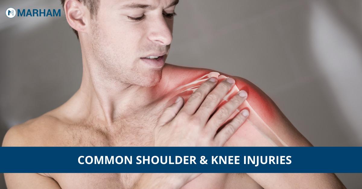 knee and shoulder injuries