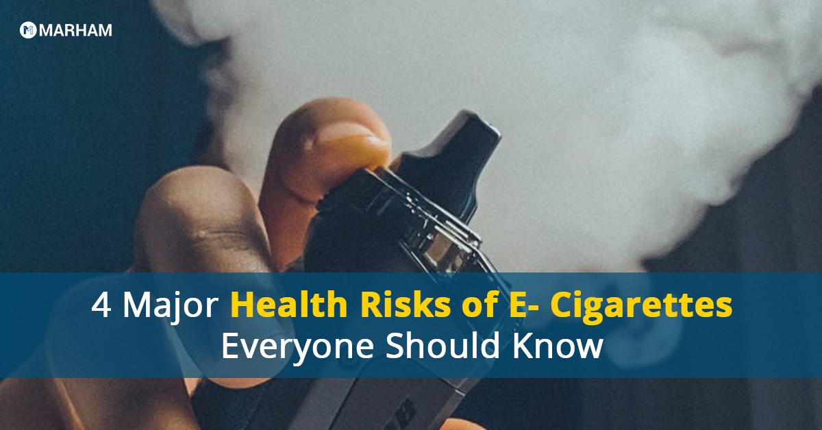 health risks of E-cigarettes