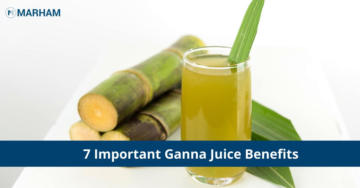 ganna juice benefits