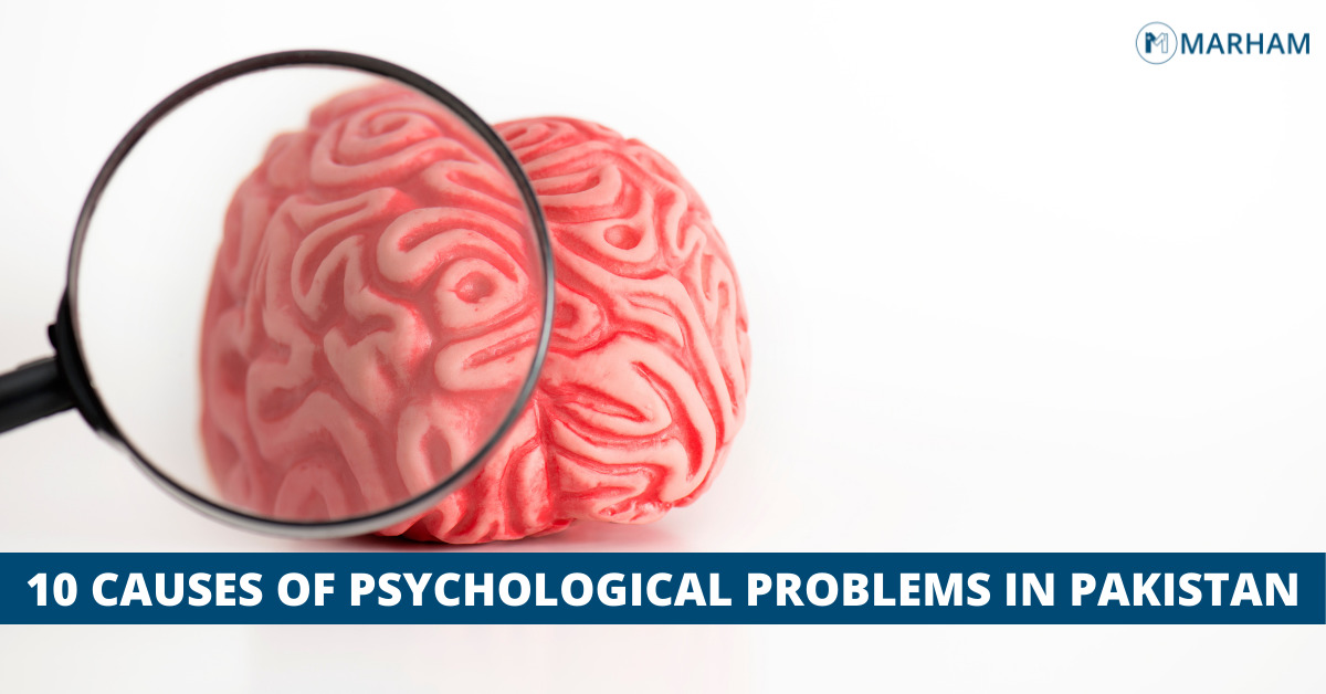 Causes of psychological problems in Pakistan