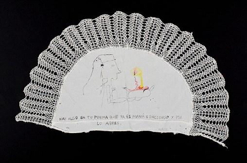Acrylic on fabric. 50x30 cms. 2012