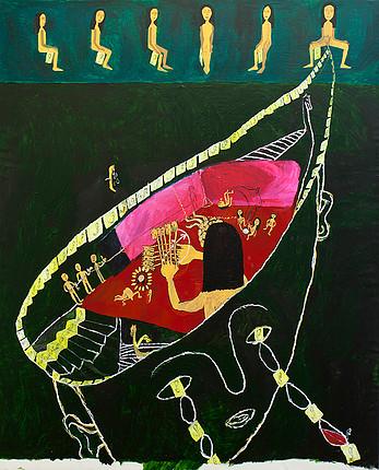 Acrylic on canvas. 167x131cms 2012