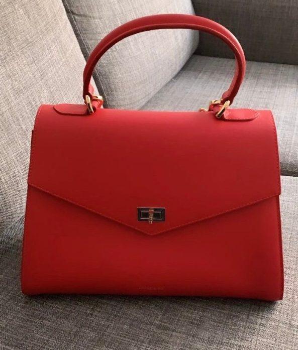 röd anine bing väska