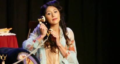 Lucy in Menotti's The Telephone