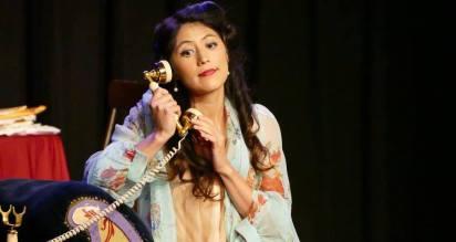 Lucy in Menotti's The Telephone
