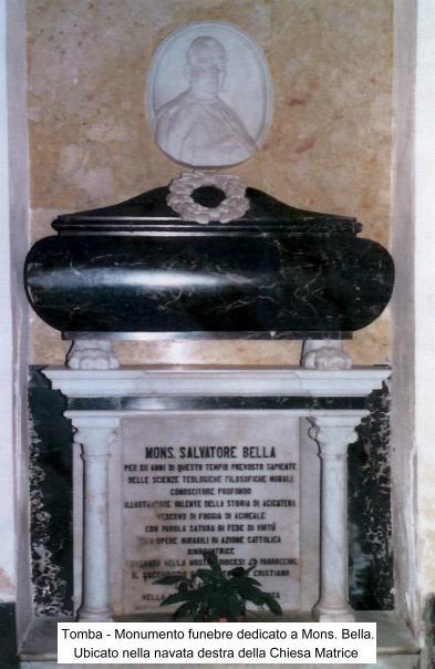 Monumento Funebre Mons. Bella