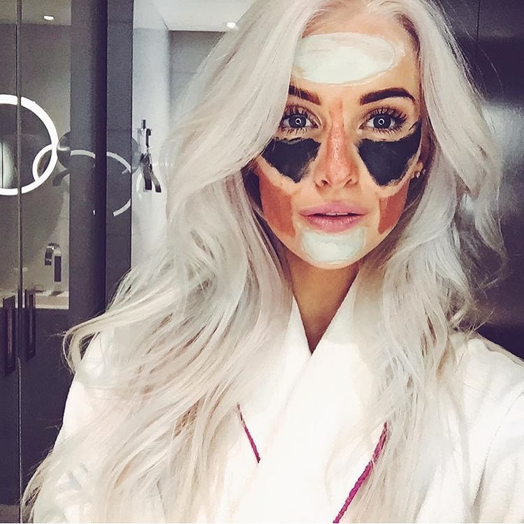 inthefrow loreal multimask pure clay