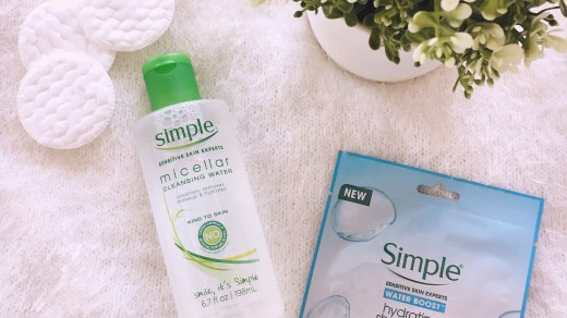 Água Micellar da Simple Cosmetics