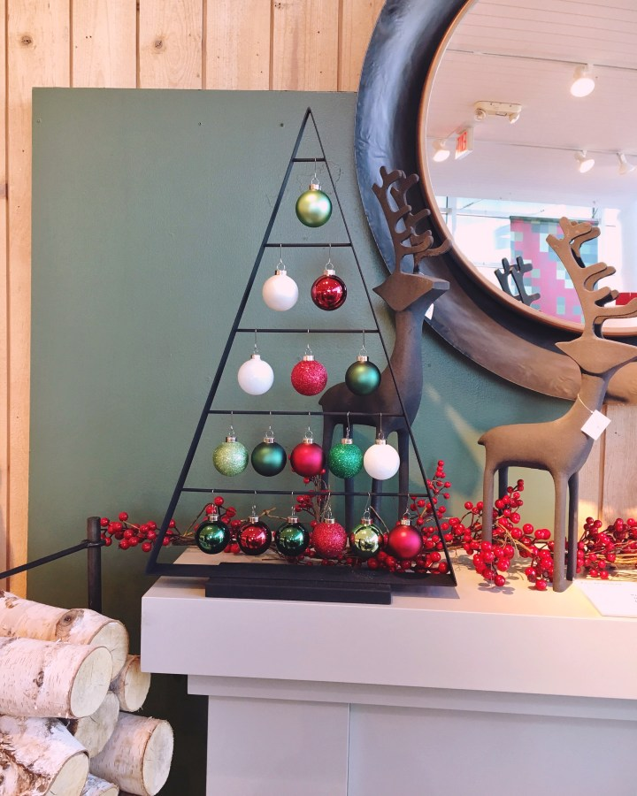 Crate and Barrel for Christmas