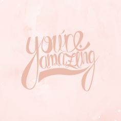 Wallpaper_You're amazing
