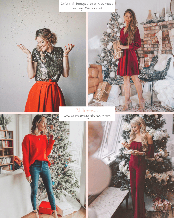 The best outfits inspirations for the holidays from my Instagram and Pinterest