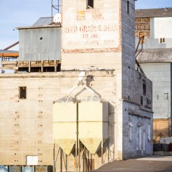 Maria V. Garth photograph of a grain elevator