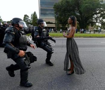 """Leshia (Ieshia) Evans Marched For """"A Better Future For Her 5 Yr. Old Son"""""""