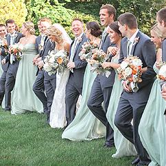 Cortège d'honneur mariage