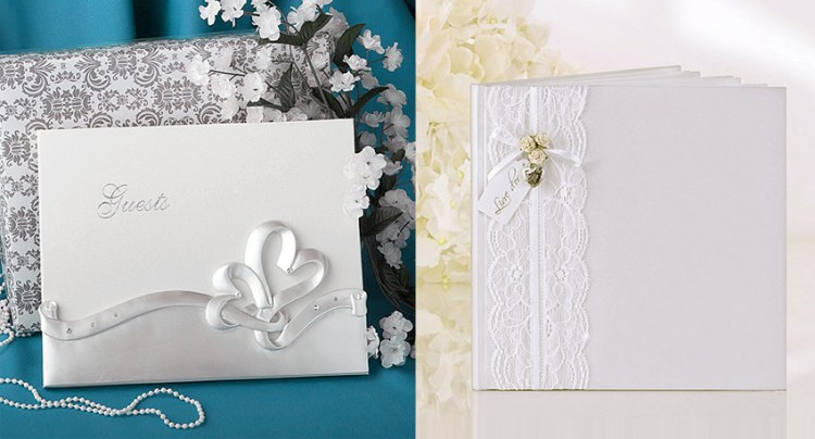 Livres d'or mariage