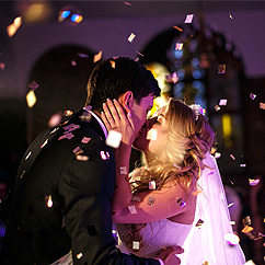 Soirée dansante confettis