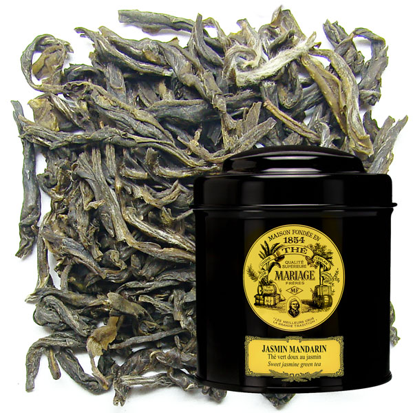 JASMIN MANDARIN™ - Thé vert doux  - aux fleurs de jasmin