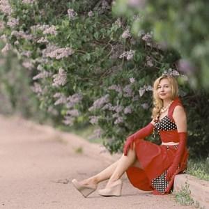 robe année 50