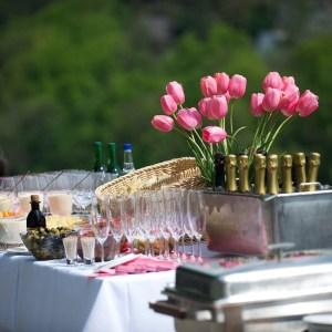 organiser une réception en plein air