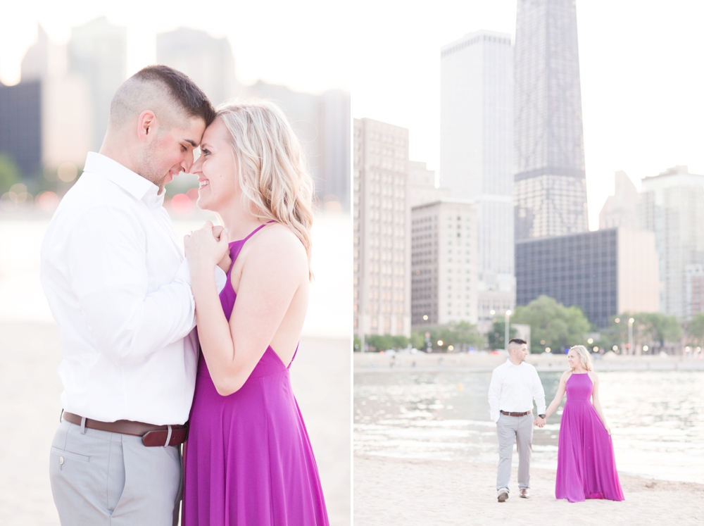 Downtown Chicago Engagement