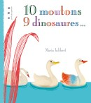 10 moutons 9 dinosaures couv red
