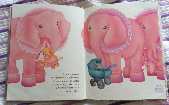 rosa caramelo elefantas