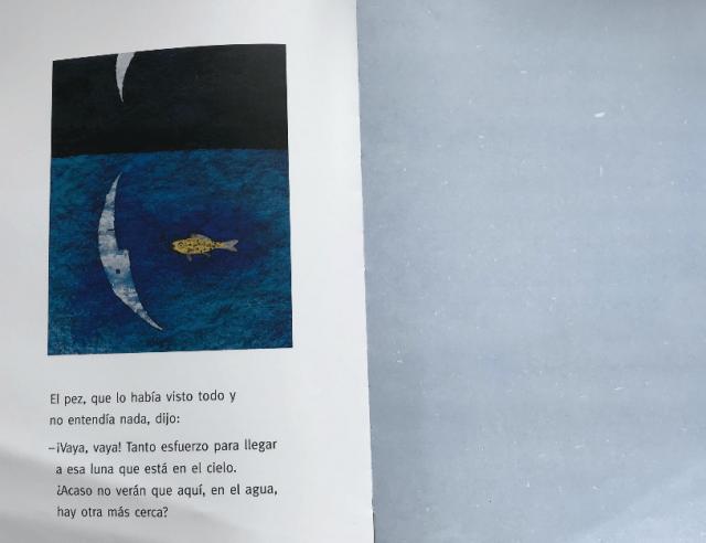 cuento luna pez