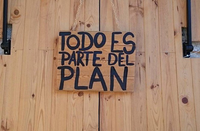 Todo es parte del plan