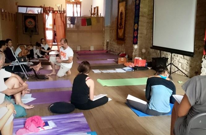 Curso de profesores de yoga: Primer módulo