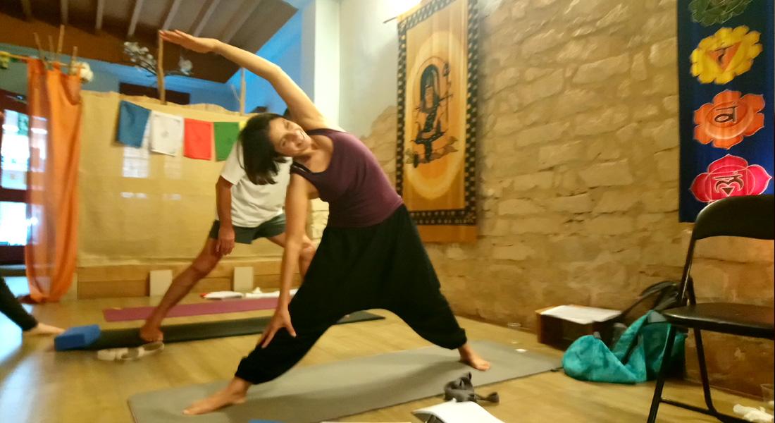Curso de profesores de yoga de Prana, Escuela de yoga (2º año, primeros módulos)