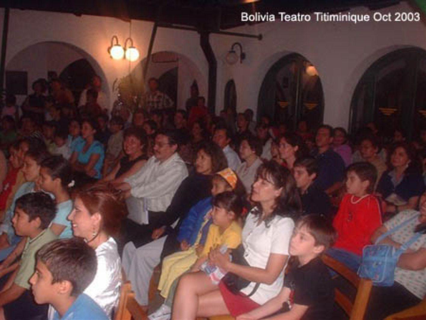 Presentación Libro Aurora en Bolivia 2003