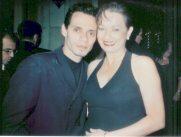 María Juliana y Marc Anthony en los Premios ASCAP.