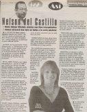 Reseña del periodista Nelson del Castillo, PRIMERA HORA, Puerto Rico, jueves 25 de septiembre de 2003.