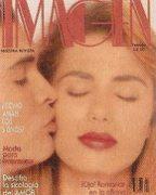 Portada de la revista Imagen con la entrevista a María Juliana, 1992.