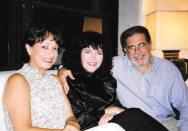 María Juliana, María Luisa Güell y Vicente Rojas.