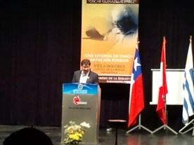Miguel Ángel Ortíz da la bienvenida a los poetas