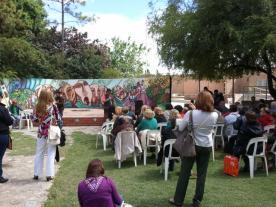 Poetas reunidos en San Javier