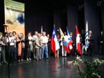 Representantes de los distintos países que asistieron al encuentro