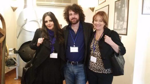 Flaminia Cruciani, Gianpaolo Mastropasqua y María Juliana Villafañe
