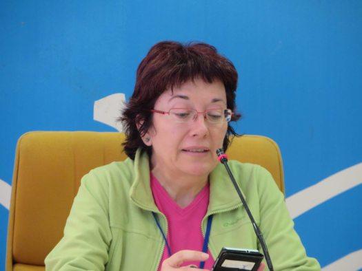 Begoña Montes escritora de Madrid.
