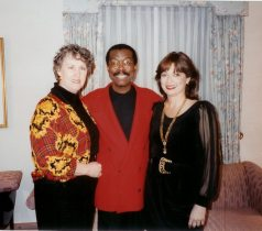 Delesa Lucien, Jon Lucien y María Juliana