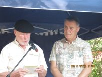 Hans Melchior Schmidt and Julio Pavanetti