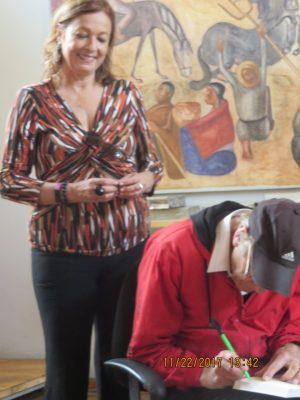 María Juliana y Padre Miguel Garnett