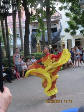Cartagena Bailes en plaza