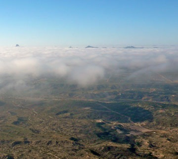 Low Clouds at Wickenburg