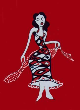 Vestida De Rombos - 2001 (100€)