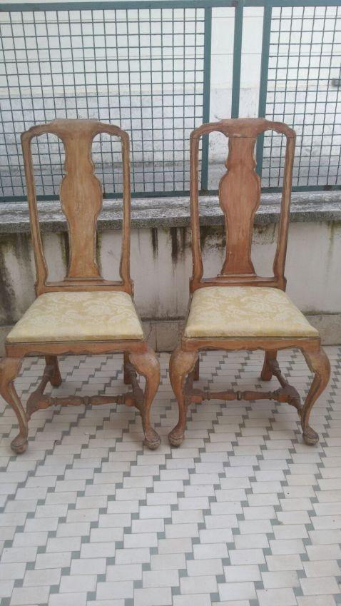 Le sedie prima