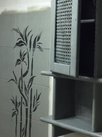 Restyling mobili e mattonelle bagno dopo