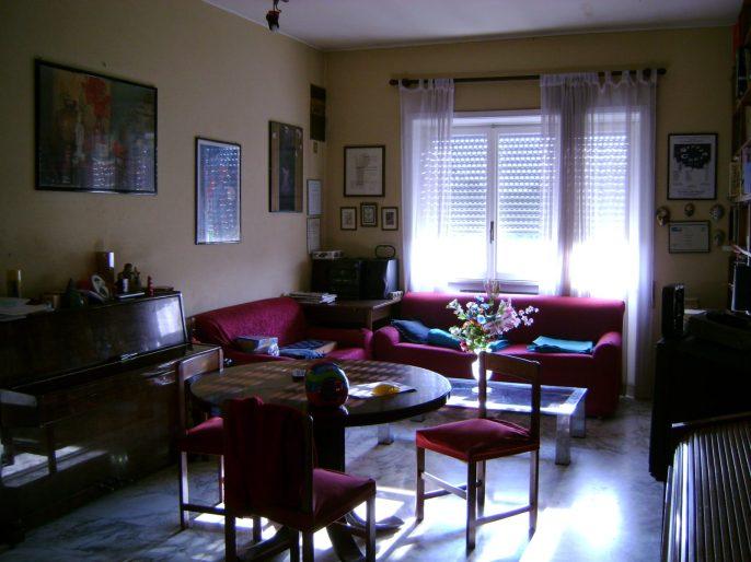 Il salotto prima